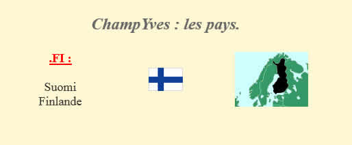 Les pays ChampYves